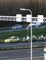 14 december Gewonde bij aanrijding A13 Den Haag