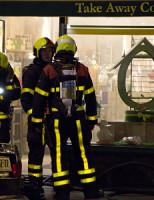 22 april Brand in bakkerij Theresiastraat Den Haag