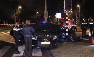 3 januari Twee gewonden bij aanrijding Houtwijklaan Den Haag
