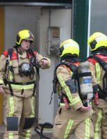 3 december Brandweer druk met 'Grote Brand' in kas Bospolder Honselersdijk