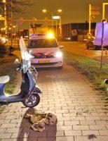 6 december Gewonde bij aanrijding tussen scooter en brommer Nieuweweg Poeldijk
