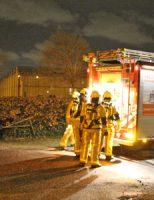 7 december Schoorsteenbrand slaat over in dak woning Burgemeester Elsenweg Honselersdijk [VIDEO]