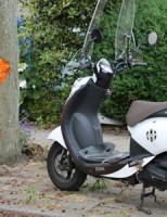 21 juni Scooterrijdster botst tegen boom Bantulaan Delft
