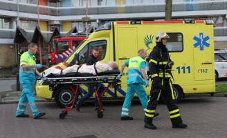 [UPDATE] 3 april Man steekt zichzelf in brand Griegstraat Delft