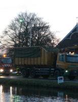 23 november Brandweer red paard uit water Rijksstraatweg Den Hoorn