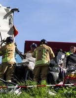 9 april Meerdere gewonden bij ongeval rijksweg A20 Vlaardingen