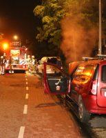 20 mei Buurtbewoners schrikken op van autobrand Delflanddreef Pijnacker