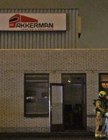 14 december Grote brand in schadeherstelbedrijf Transportweg Maasdijk