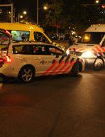 7 oktober kop-staart aanrijding tussen twee voertuigen Zevensprong Den Haag