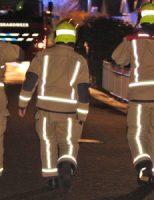 14 december Brandweer druk met uitslaande brand in vakantiehuisje Wierstraat Hoek van Holland [VIDEO]