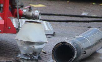 15 december OMS-melding blijkt een schoorsteenbrand te zijn Transportweg Maasdijk
