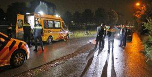 2 juni Fietser zwaargewond na val met fiets Woudseweg Den Hoorn