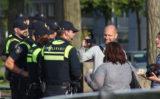 27 juni Demonstratie tegen politie geweld verloopt rustig Den Haag