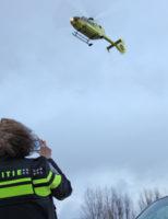 14 januari Traumahelikopter vliegt uit na val van trap Groeneveldseweg De Lier