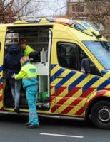 15 januari Flinke schade na kop-staart aanrijding Lozerlaan Den Haag