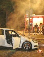 3 juni Geparkeerde auto vliegt in brand Generaal Berenschotlaan Rijswijk