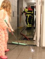 15 januari Waterleiding gesprongen in flat Ambachtsstraat Leidschendam