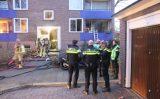 18 januari Bewoner aangehouden na flinke brand in woning Prof. Evertslaan Delft [VIDEO]