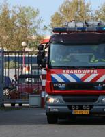 11 april Brand in timmerfabriek Schieweg Delft