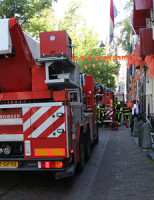 17 juli Brandweer rukt uit voor woningbrand Oude Delft