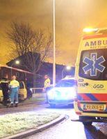 1 januari Audi crasht na achtervolging Anthony Fokkersingel Den Haag