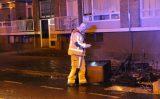 24 november Flinke buitenbrand maakte bewoners wakker Melis Stokelaan Den Haag
