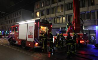25 februari Flinke brand in snackbar Hobbemastraat Den Haag