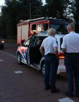 18 juli Boom valt om tegen schuur Delftweg Rijswijk