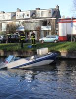 10 december Bootje gezonken Het Haantje Rijswijk (video)