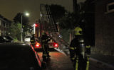 27 juli Politie haalt bewoners uit woning na brand op dakterras Binckhorstlaan Voorburg