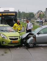 21 juli Twee gewonden en flinke schade na aanrijding Buitenwatersloot Delft
