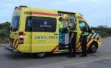 28 juli Gewonde na botsing tegen lichtmast Strandboulevard Hoek van Holland