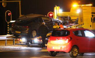 7 januari Vlietpolderplein deels afgesloten vanwege ongeluk Naaldwijk