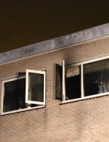 7 december Vrouw schrikt wakker van heftige brand in badkamer Regentessestraat Zoetermeer [VIDEO]