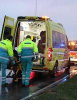 7 december Bestuurster van scooter gewond bij aanrijding Burgemeester Elsenweg Naaldwijk