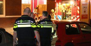 22 juli Flinke rookontwikkeling door woningbrand Verisstraat Den Haag