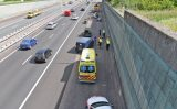 17 mei Gewonde bij kop-staartbotsing op de A4 Schipluiden