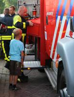 26 juli Flinke schade na brand in wasdroger Meidoornlaan Delft