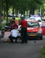 Fietser ten val na aanrijding Buitenhofdreef