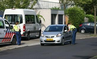 Snelheidscontrole Valkenlaan Delft