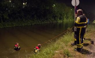9 mei Brandweer zoekt naar mogelijk te water geraakt persoon 't Haantje Rijswijk