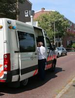27 juli Scooterrijder ernstig gewond na aanrijding Sasboutstraat Delft