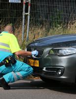 27 juli Fietser licht gewond na aanrijding met auto Spoorsingel Delft