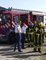 15 mei Brandweer inzet na melding gaslucht Hoornsekade Den Hoorn
