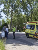 16 mei Gewonde bij aanrijding Brasserskade Delft