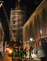 30 juli Brandweer rukt uit voor rook vanaf het dak Kerkstraat Delft