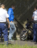 16 mei Gewonde bij aanrijding fietspad Provincialeweg Delft