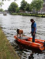 13 juli Zoekactie in de Schie naar Riet van Veldhoven
