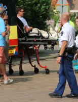 31 juli Fietser over de kop geslagen na remmen voor auto Sionsweg Rijswijk