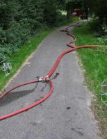 10 september Brandweer heeft handen vol aan flinke buitenbrand in Delft [VIDEO]
